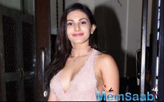 Politics is very much the flavour of the month in India's show business, and the new generation of Indian actors are accepting socially acute without a moment's hesitation. Amyra Dastur is not one to shy away from a challenging role.