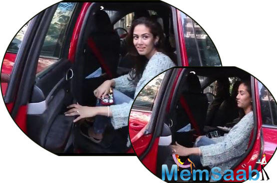 Mira Rajput is often snapped with her kids Misha and Zain, while the paparazzi follow them around.