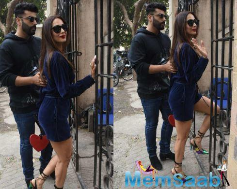 Arjun and Malaika made their relationship official last year on the former's birthday, when the couple was holiday in New York.