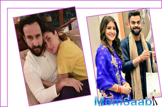 Jokingly, the Bollywood diva quickly questioned Saif on why he was not saying that they are couple goals too.