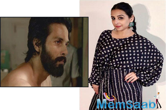 The Shahid Kapoor starrer was a box office juggernaut and Vidya Balan, who was Shahid's co-star in Kismet Konnection, came out in the defence of the Sandeep Vanga directorial.