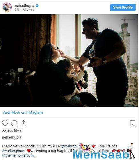 Meanwhile, in an exclusive chat with ETimes, Neha's husband Angad Bedi, who recently underwent a knee surgery opened up about the growing paparazzi culture and how it has affected his daughter Mehr.