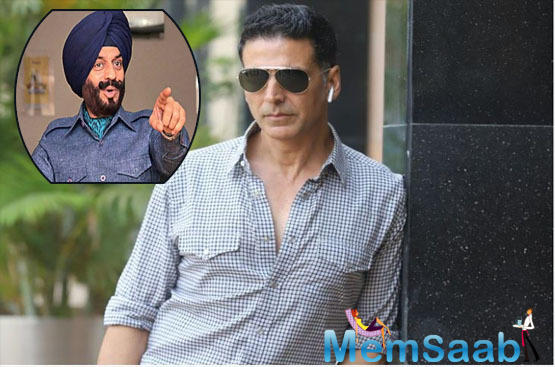 """A source close to us revealed, """"The producers share an extremely fond relationship with Akshay who's also part of their next big film Sooryavanshi."""