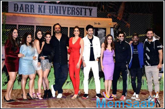 For the first time, contestants will be seen performing stunts on a moving train, which has been specially designed by Rohit Shetty.