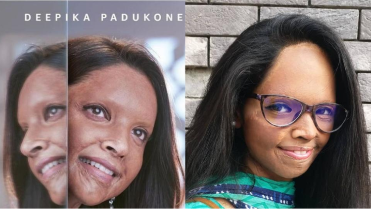The film, which is roughly based on acid survivor Laxmi Agarwal's life