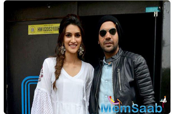 """Further, talking about Raj's exceptional comic timing, Dinesh pointed out, """"You saw it in Stree, you will see it in our upcoming horror comedy, Roohi Afzana, and in this one as well."""