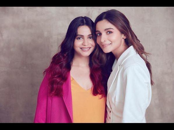 Alia Bhatt shares a close-knit relationship with her sister Shaheen Bhatt