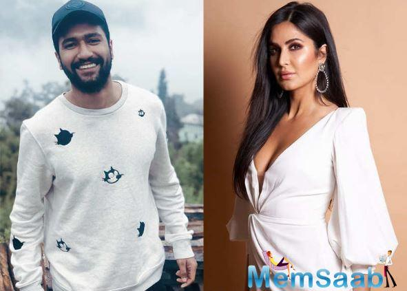 While Vicky and Katrina are tight lipped about their relationship, buzz about their romance refuses to die down.