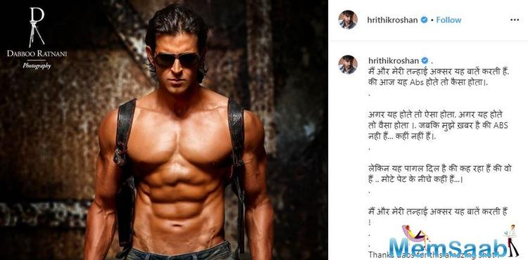 He also thanked the ace photographer Daboo Ratnani for