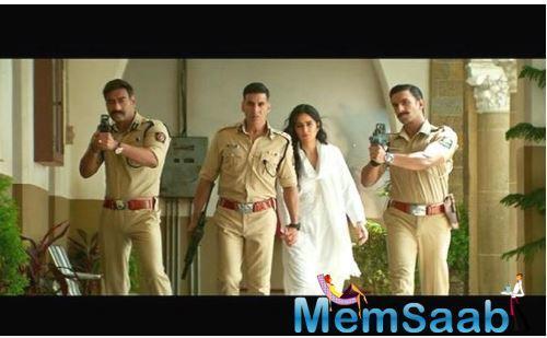 Sooryavanshi also features Katrina Kaif, Abhimanyu Singh and Jackie Shroff.