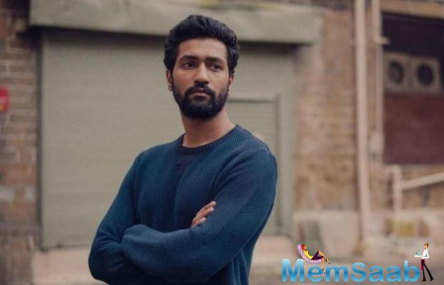 On Sunday, Vicky Kaushal's film managed to grow to some extent.
