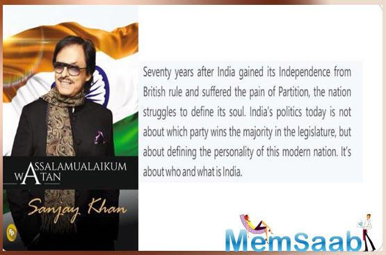 Through his book, Khan urged Indians to