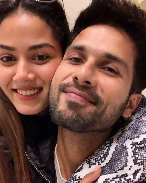 Mira shared a loved-up picture of herself with Shahid