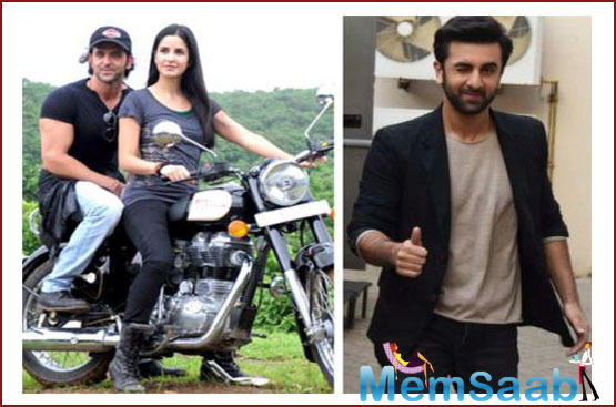 When her then-boyfriend Ranbir Kapoor was asked the same during a press conference, he had said that one needs to have a lot of control for someone to ride pillion. Balance is required.
