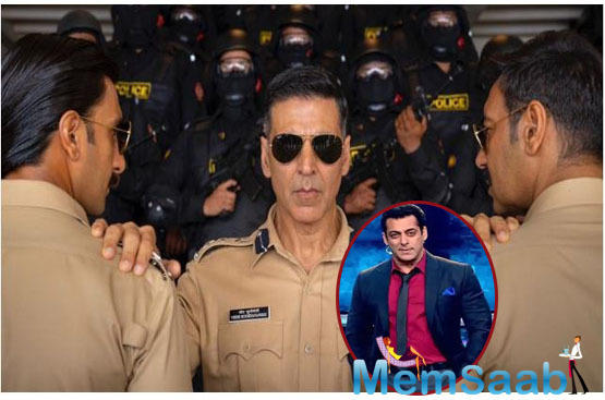 According to the latest reports, the much-awaited teaser of the Salman Khan starrer will be unveiled along with Rohit Shetty's 'Sooryavanshi' starring Akshay Kumar.