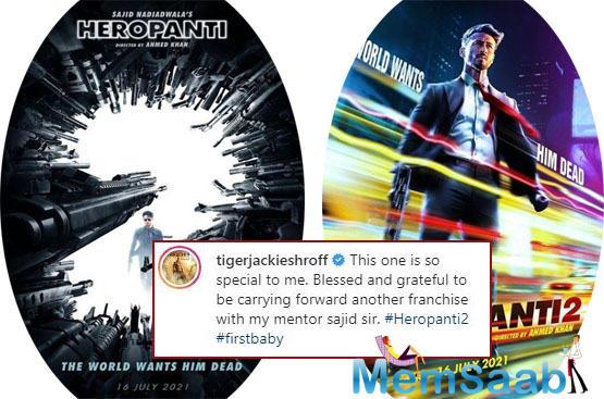 Tiger Shroff is currently promoting Baaghi 3 starring alongside Shraddha Kapoor.