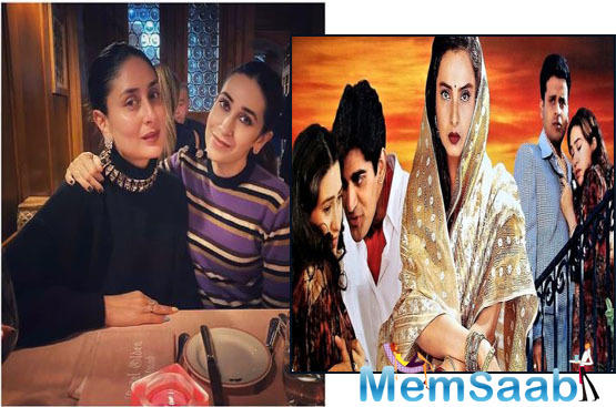 Reportedly, Khalid had written the script of Rutbaa (The Honour) keeping Karisma and Kareena in mind.