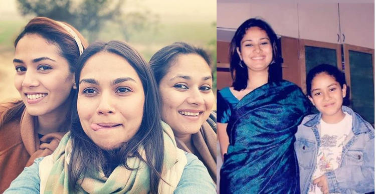 It is always a treat to see Mira Rajput with her sisters in one frame