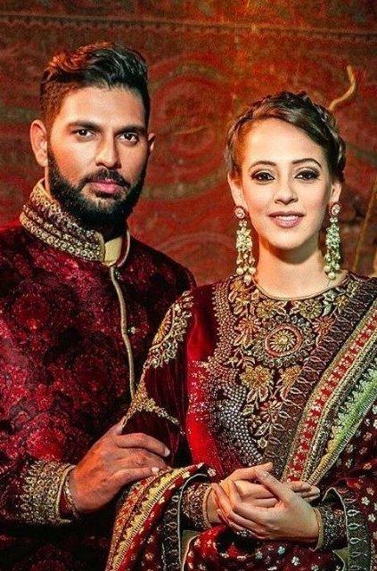 Hazel and Yuvraj tied the knot in a traditional Sikh marriage ceremony in November 2016