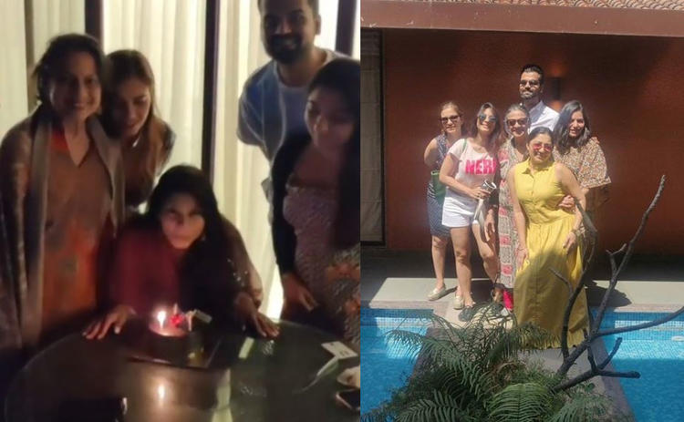 Tanishaa took to her Insta handle to give us a glimpse of her birthday celebration