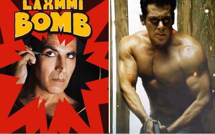 'Laxmmi Bomb' vs 'Radhe'