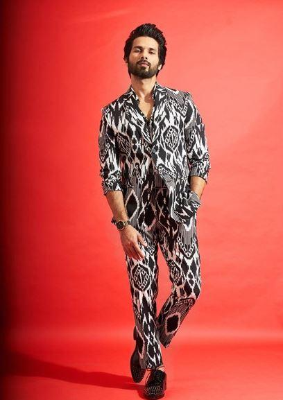 The Bollywood actor Shahid Kapoor will feature in the upcoming film called Jersey