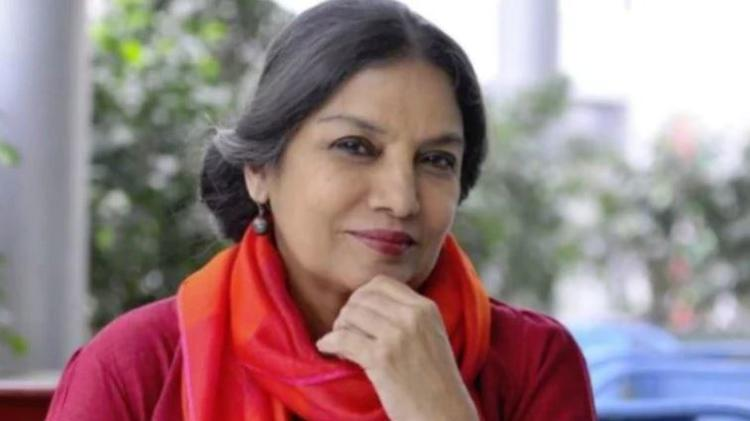 Shabana recently met with a serious road accident
