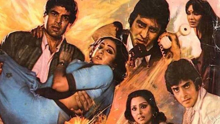 The Burning Train was directed by Ravi Chopra and produced by his grandfather BR Chopra