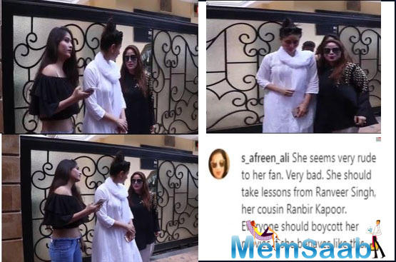 This is what seems to have happened with Kareena Kapoor Khan recently during Holi celebrations.