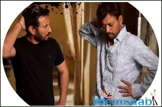When asked how he felt about Irrfan making a comeback after such a long time, Homi says,