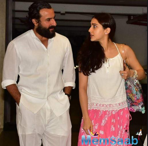 Elaborating more about the same, Saif added that he has always made a clear distinction between family and career.