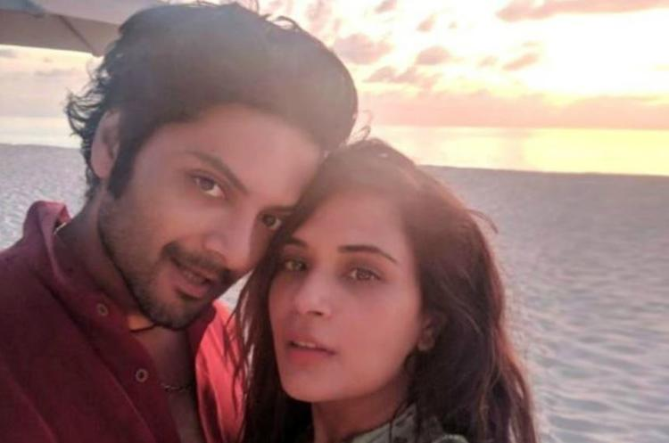 For Ali Fazal and Richa Chadha, the wedding was supposed to take place in New Delhi