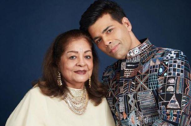 Karan credits his mom for helping and guiding him through parenting the two kids