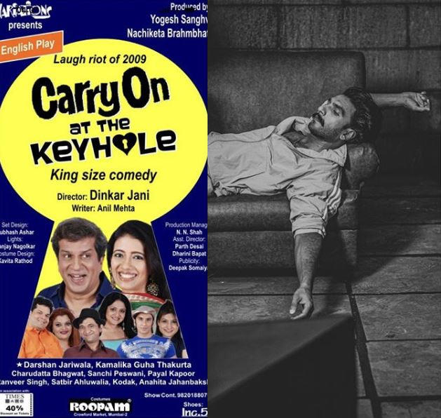 """The actor shared a poster of an English play named """"Carry On At The Keyhole"""""""