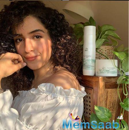 Sanya Malhotra said, she began behaving like her character from the film Pagglait.