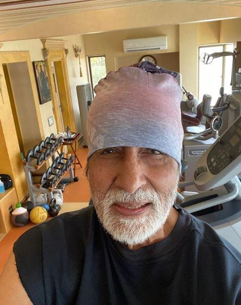 Mr. Bachchan is keeping himself fit during this time
