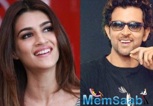 Kriti has earlier also went on record to say how she finds Hrithik, hot and that- she had a crush on him, in an interview.