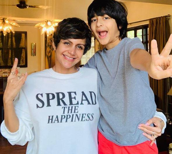 Bedi says she is now focusing on just being positive about the situation