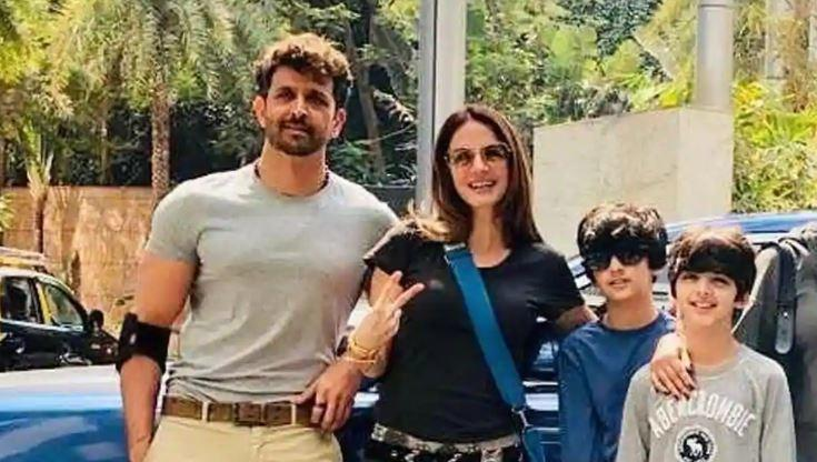 Sussanne Khan has temporarily moved in with her ex-husband Hrithik Roshan