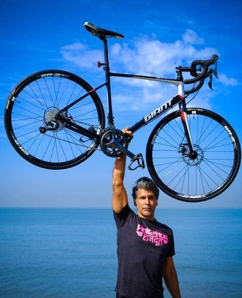 """""""Exercising in gyms with machines doesn't work for me. I'm more of an outdoor person"""": Milind Soman"""