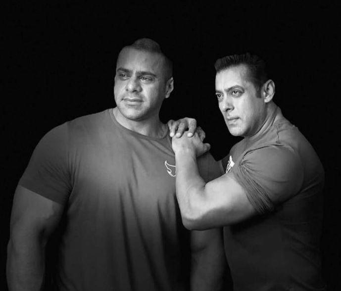 Abdullah had a good physique just like Salman Khan