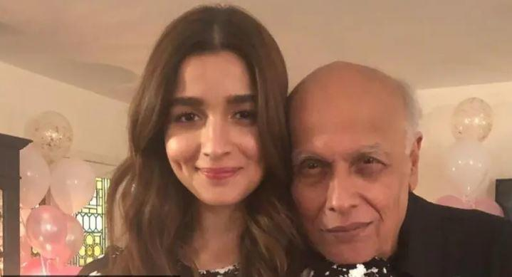 Alia expressed her worry for her father amid the coronavirus outbreak