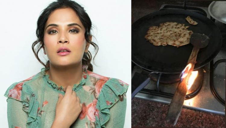 Only I can burn the damn ladle along with the food: Richa Chadha