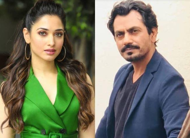 Tamannaah will be working in Bollywood again with Nawazuddin Siddique