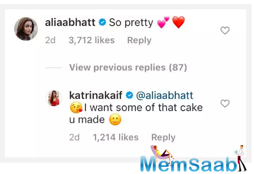 Recently, Alia Bhatt called Katrina and Isabella 'pretty'.