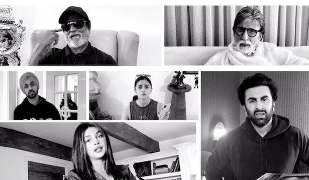 The 'made at home' short film follows Amitabh Bachchan's family