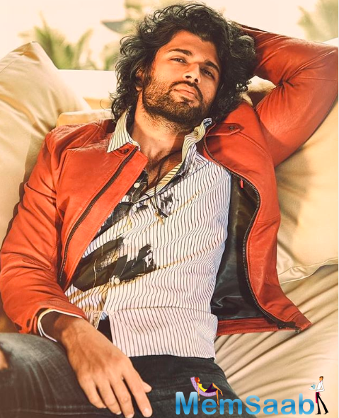 On the film front, Vijay Deverakonda has shot a majority portion for his Bollywood debut opposite Ananya Panday.