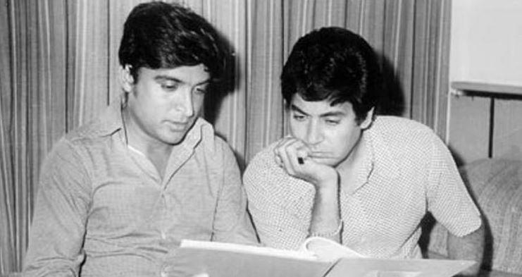 Javed Akhtar and Salim Khan wrote the film and helped the director find the actors for the characters