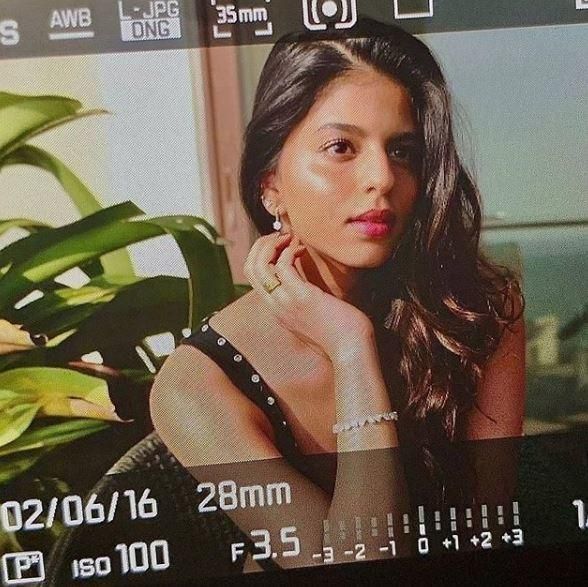 Suhana changed her display picture on Instagram to a sun-kissed photo
