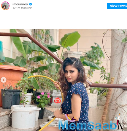 The actress who keeps her fans updated about her day-to-day activities and today, she took to her Instagram to share pictures of what she did on Sunday.
